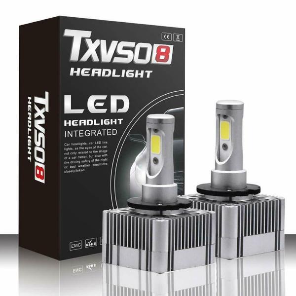 LED Replacement Bulb Diamond White 12V Car Headlight 55W 6000K D3S/D3R/D1S/D1R 1