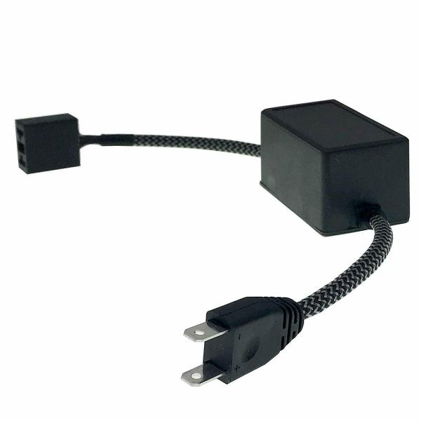 H7 LED Headlight Canbus Decoder HID Error Free Anti Flicker Resistor 1 Pair 3