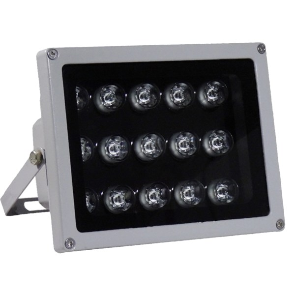 IR Illuminator 850nm 15-LED IR Infrared Light with Power Adapter for CCTV Camera (90 Degree) 1