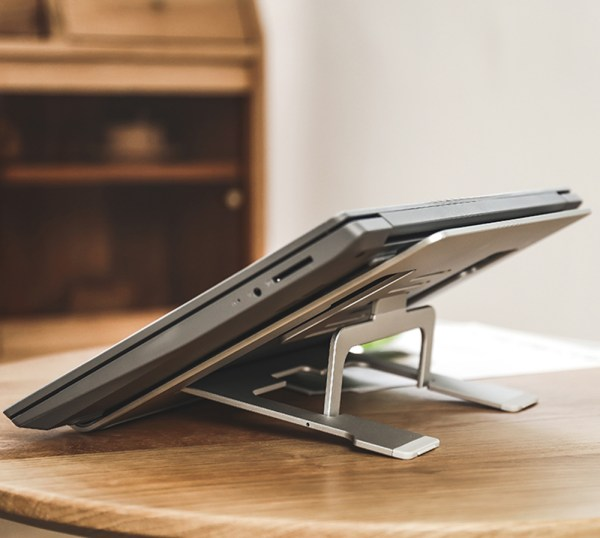 """Laptop Stand for Lenovo NS10 Ventilated Portable Holder Fit 10""""-15.6"""" Notebook 8"""