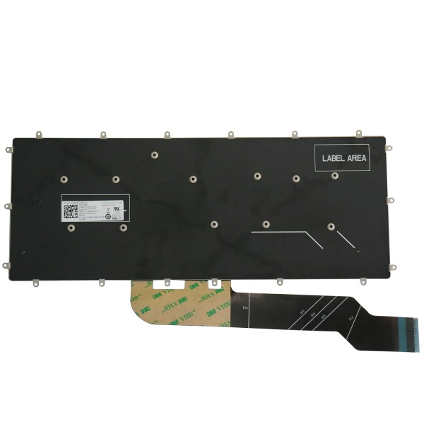 Replacement Keyboard for Dell Inspiron 5368 5378 5370 5379 5568 5578 5579 Laptop No Frame 2