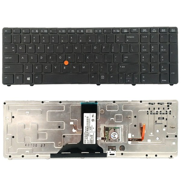 Replacement Keyboard for HP EliteBook 8760w 8770w Laptop with Pointer 2