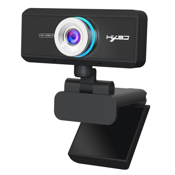 HD 1080P Computer Camera, Laptop PC Webcam with Sound Absorbing Microphone 1