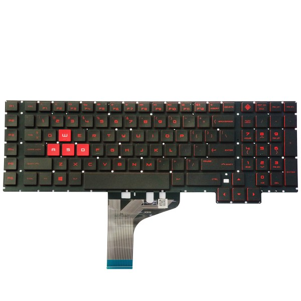 Replacement Keyboard for HP Omen 17-an 17-an000 17-an100 17t-an000 17t-an100 Series Laptop No Frame 1