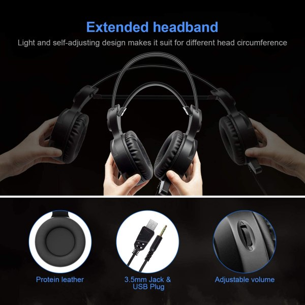 Gaming Headset New bee Stereo Over Ear Headphone Auction 4