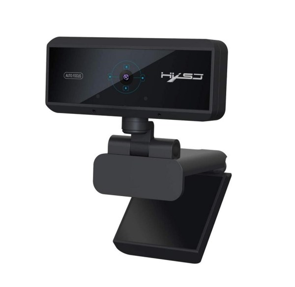 Webcam 1080P HD 5 Million Pixels Auto Focus Streaming Computer Laptop Camera USB PC Web Cam with Microphone Plug and Play 1