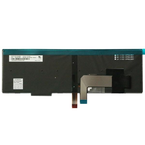 Replacement Keyboard for Lenovo ThinkPad T540 T540p L540 W540 W541 T550 W550 W550s T560 L560 L570 Laptop (6 Fixing Screws) 9