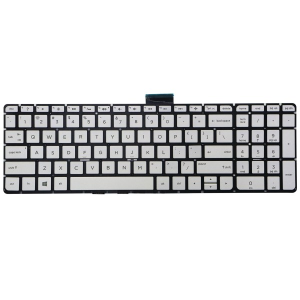 Replacement Keyboard for HP Pavilion 15-ab 15-ab000 15-ab100 15-ab200 15-ab500 15z-ab000 15z-ab100 15t-ab000 15t-ab100 Series Laptop Backlight 1