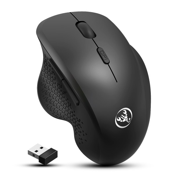 2.4GHz Wireless Mouse Optical Wireless Gaming Vertical Mute Mice 6 Keys, Three-Speed DPI Adjustable 1