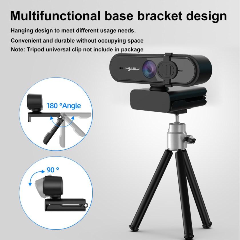 HD 1080P Webcam Autofocus Computer PC WebCam With Microphone Rotatable Cameras 12