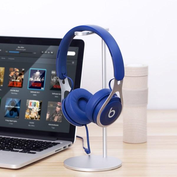 Aluminum Headphone Stand/Holder, Sturdy Gaming Headset Holder Desk Headset Hanger 6
