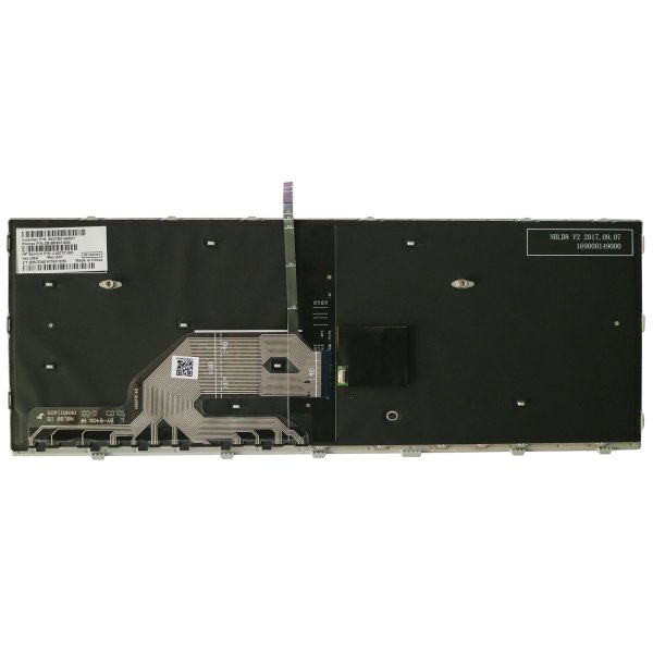 Replacement Keyboard for HP ProBook 640 G4 / 645 G4 / 640 G5 Laptop Silver Frame with Pointer 2