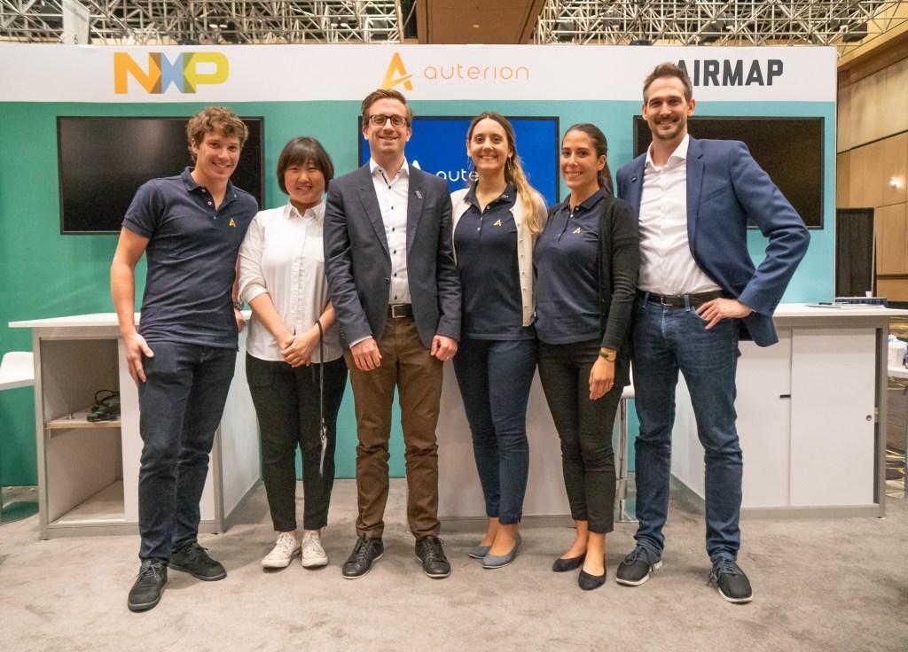 Auterion team at InterDrone 2018