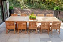 premium teak outdoor furniture