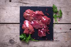 Chicken livers in sauce 12