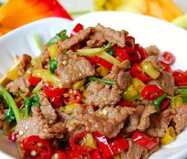 Stir Fried Beef - Authentic Chinese Food Recipes