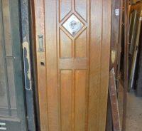 oak front door - Authentic Reclamation