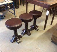 Short bar stools - Authentic Reclamation