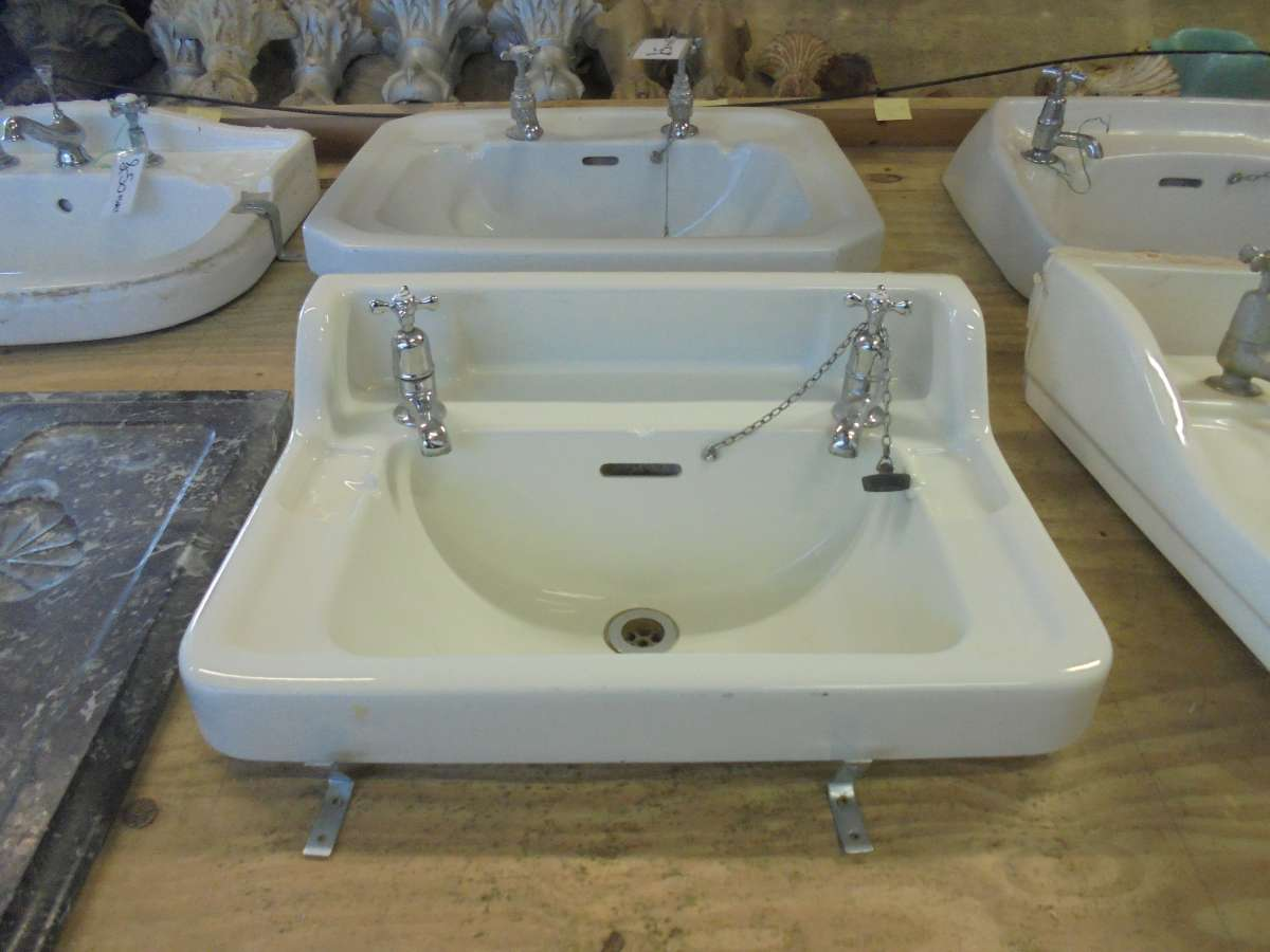 Salvaged Sink With Taps  Authentic Reclamation