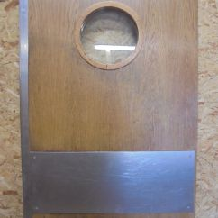 Commercial Kitchen Door Stainless Steel Faucet With Pull-down Spray Swinging Oak Authentic Reclamation Sold