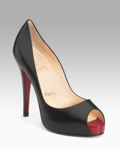 Christian Louboutin Hyper Prive Peep-Toe Pumps