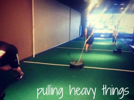 Pulling heavy weights