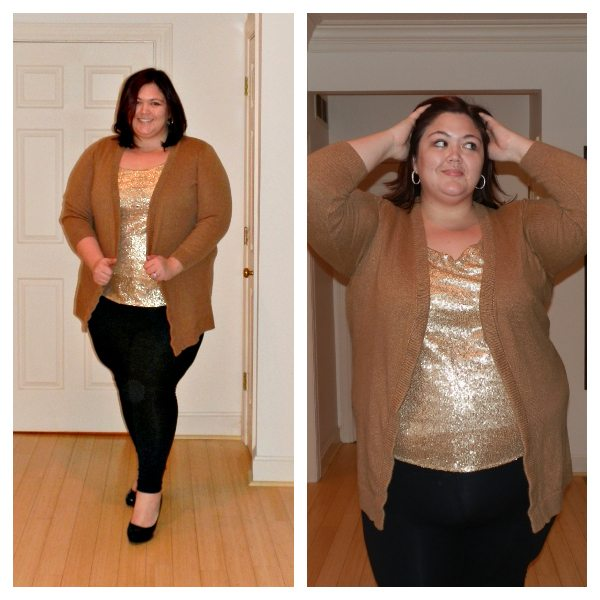 Sequin ASOS Curve Tank from Gwynnie Bee
