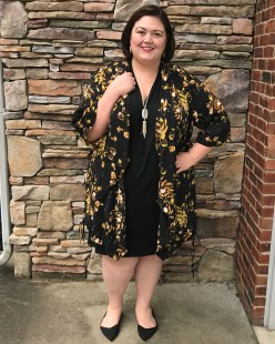 Tart Collections Dress, Melissa McCarthy Seven7 Kimono
