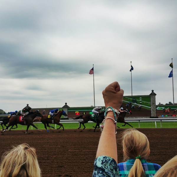 Horses at Keeneland