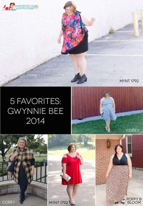 5 Favorite Gwynnie Bee Looks of 2014