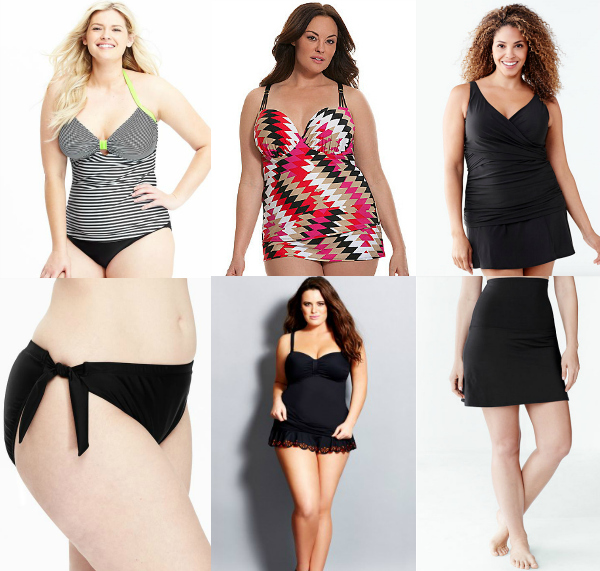 Plus Size Tankinis and Separates