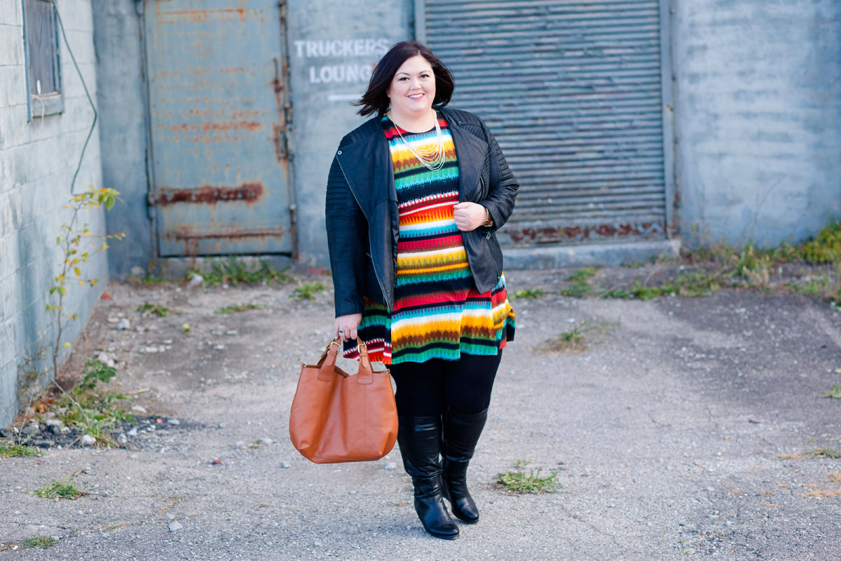 Authentically Emmie in a Tbags Los Angeles Dress from Gwynnie Bee