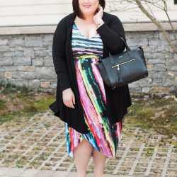 Color Explosion in Amanda Uprichard for Gwynnie Bee