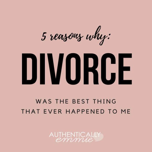 5 Lessons Learned (or Reinforced) After Divorce: