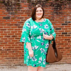 Spring Dress Perfection from Gwynnie Bee