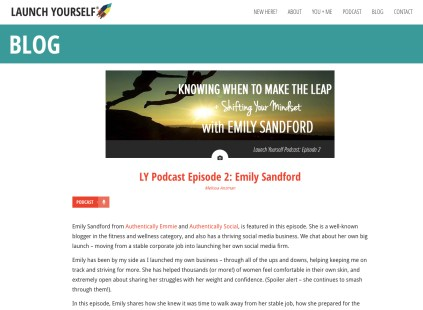 Launch Yourself Podcast