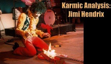 Karmic Analysis Jimi Hendrix