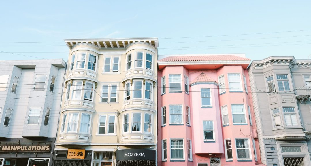 pastel homes in San Francisco