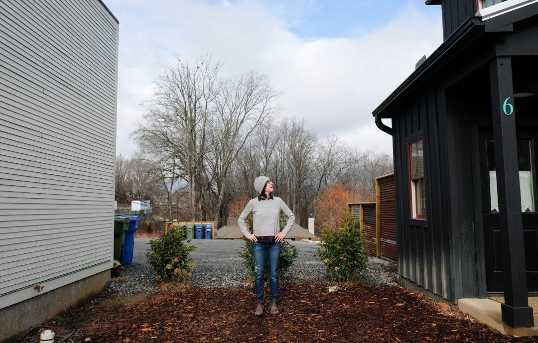 Tiny house living in Asheville, North Carolina