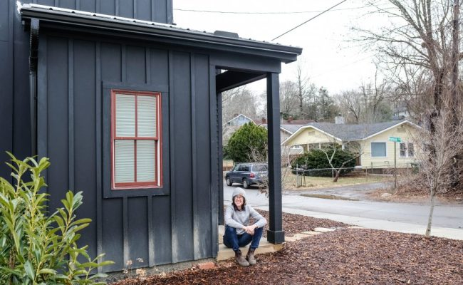 Our Tiny House In Asheville North Carolina Authentic