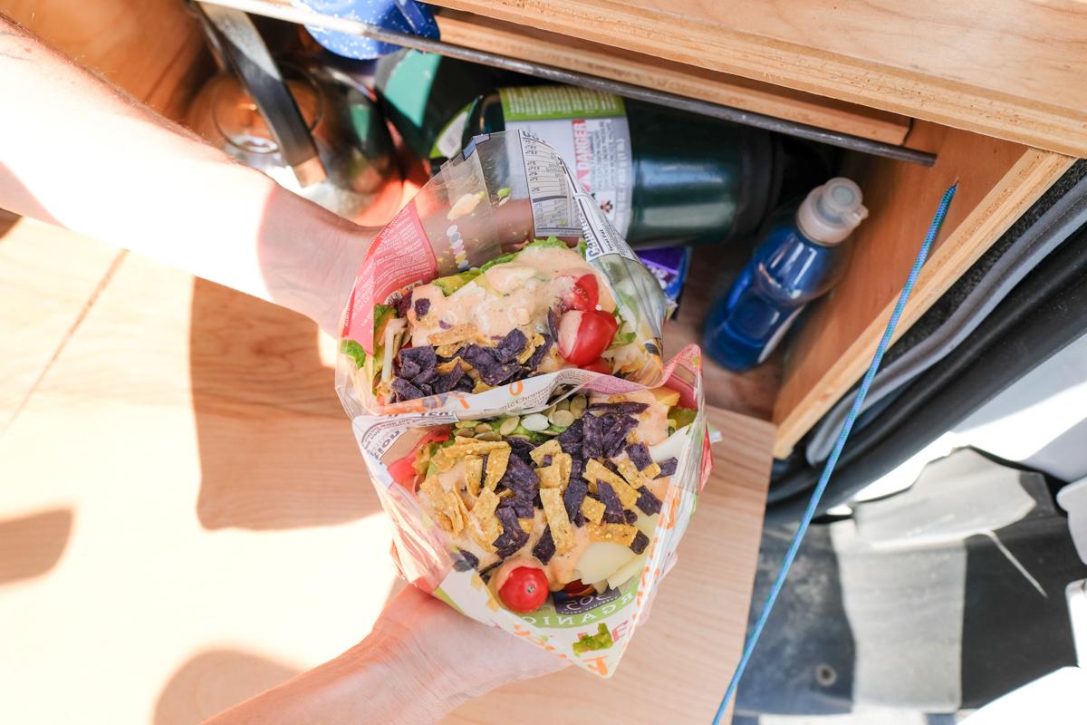 Easy Cleanup Van Life Meal