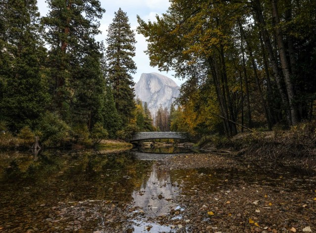 Sentinel Bridge with Half Dome in the Background!