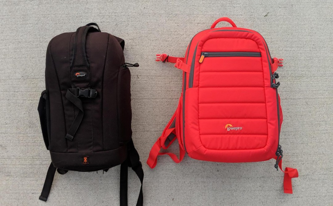 Two Lowepro Camera bags