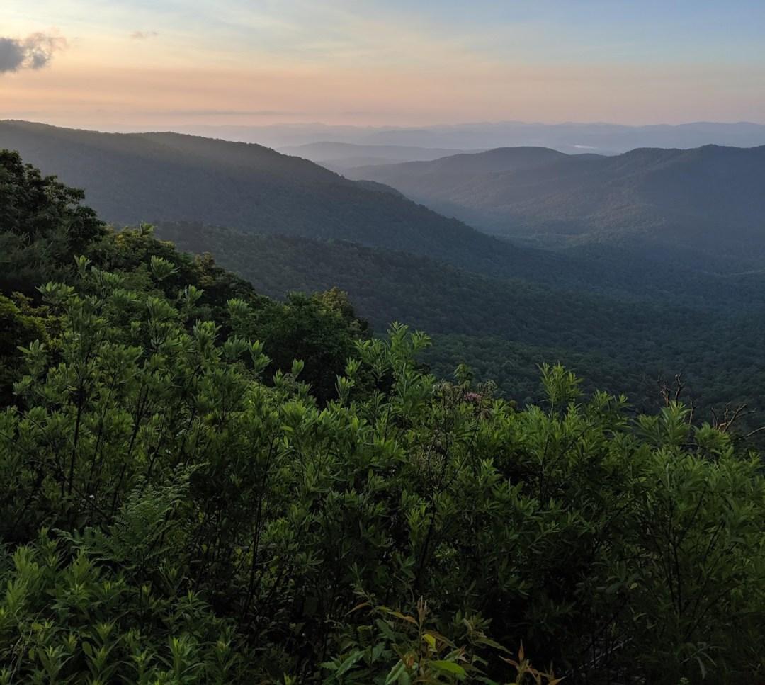 Best Instagram Spots in Asheville: Blue Ridge Parkway