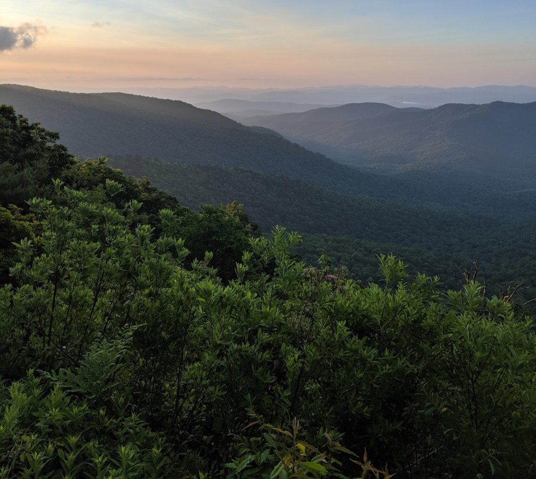 Best Instagram Spots in Asheville: Blue Ridge Parkway