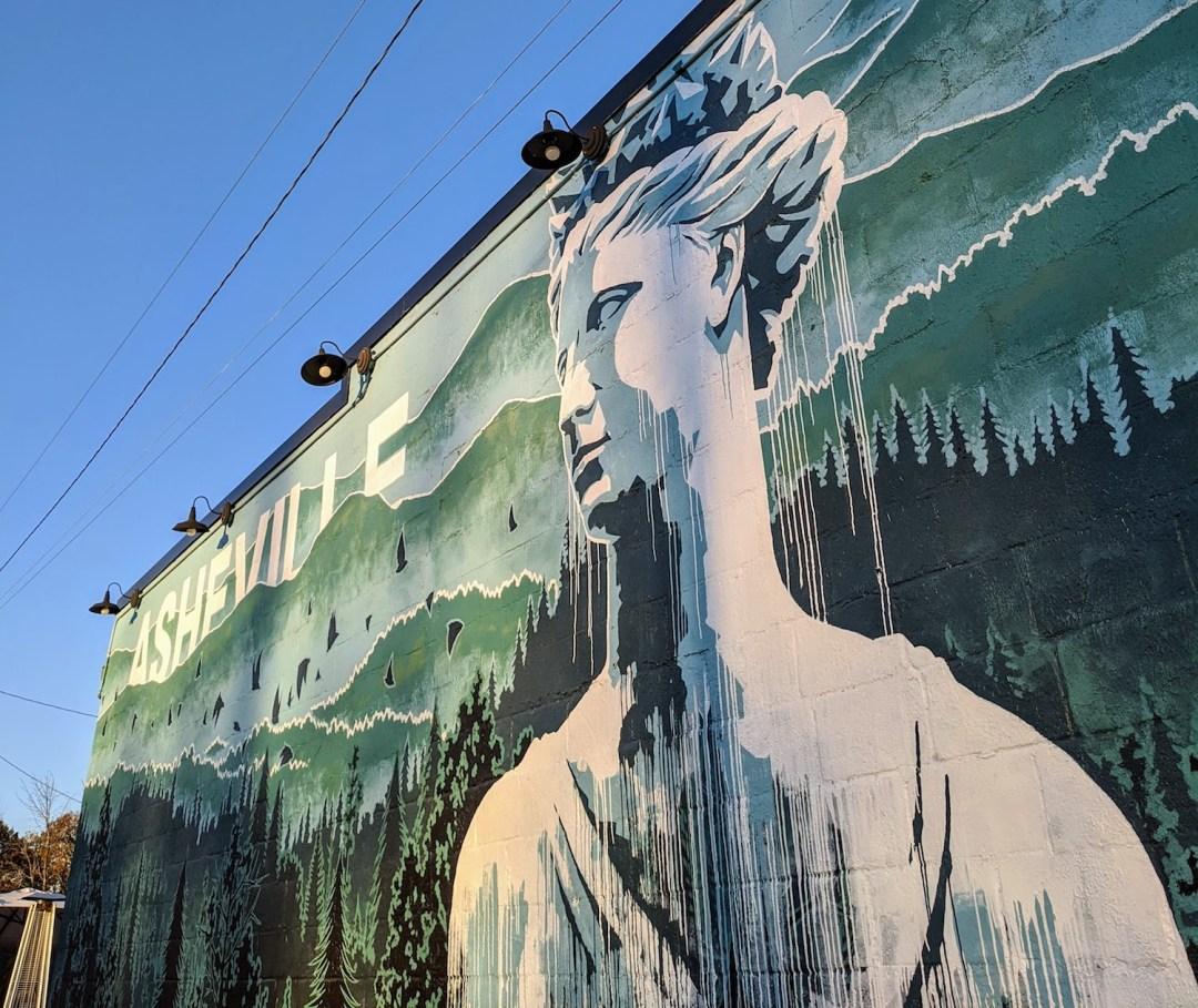 Best Instagram Spots in Asheville: West Asheville neighborhood