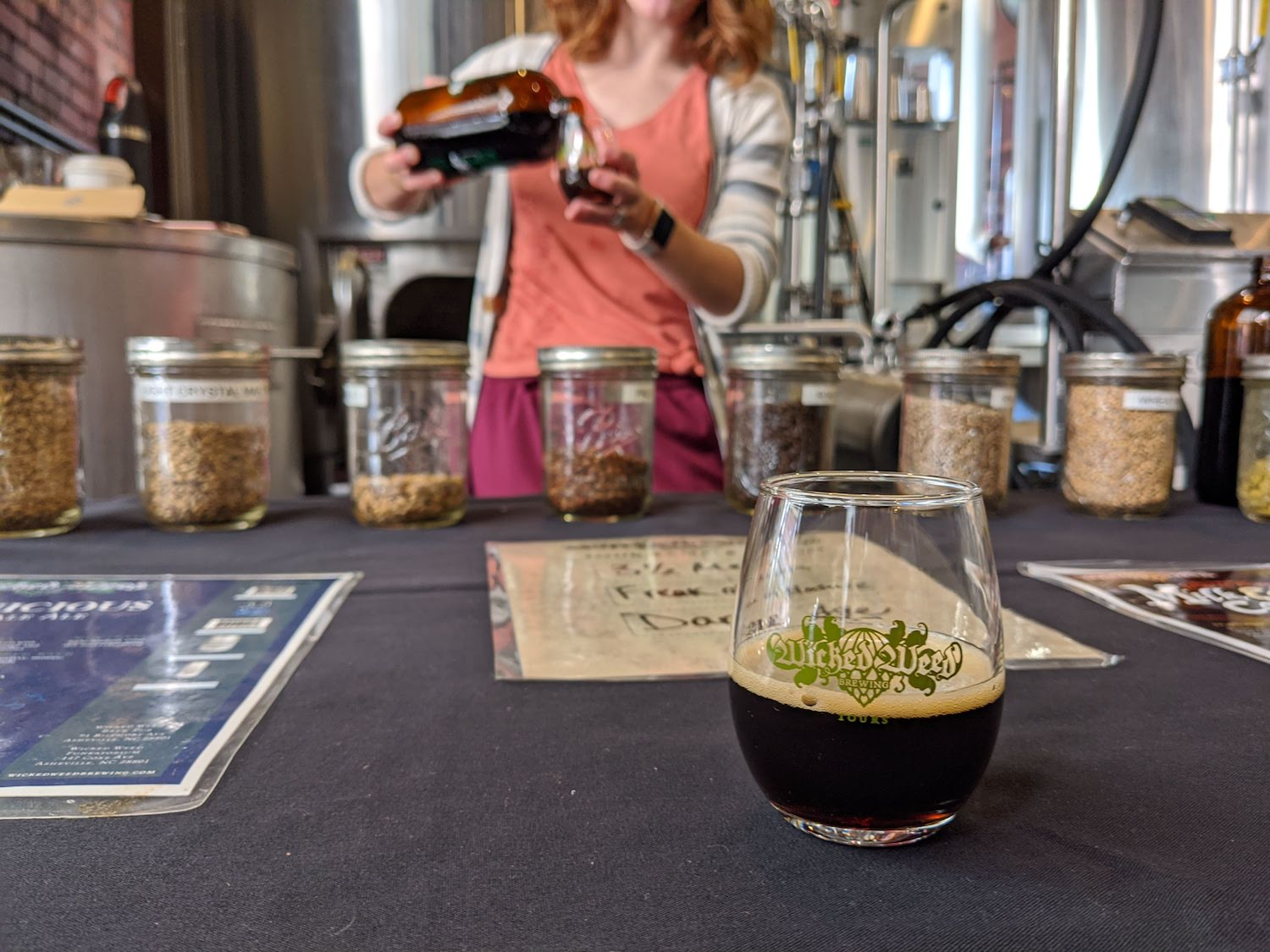 a photo of a brewery tour in Asheville, North Carolina