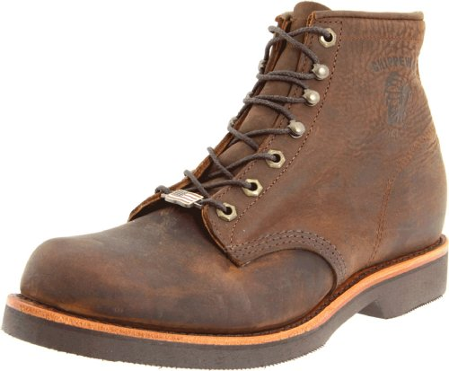 Chippewa Men's 6″ Rugged Handcrafted Lace-Up Boot