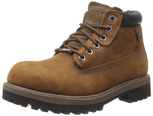 2f5a4ac2e0f Skechers Sergeants Verdict Men's Boot | AuthenticBoots.Com | men's ...