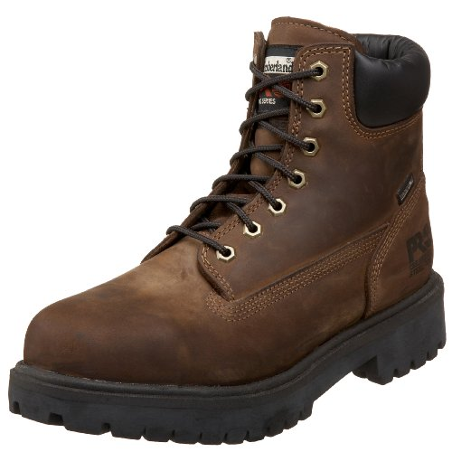 Timberland PRO Men's 6″ Waterproof Steel Toe Boot